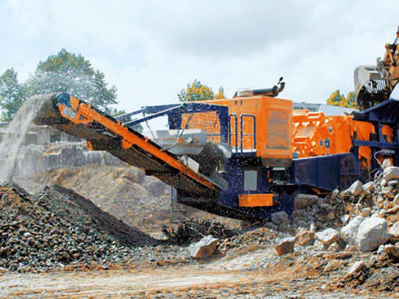 移动建筑垃圾破碎